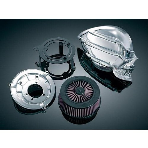 Skull Air Cleaner Cover : Kuryakyn skull air cleaner for yamaha xv v