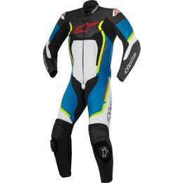 Alpinestars Mens Motegi V2 1 Piece Leather Racing Performance Riding Suit Black