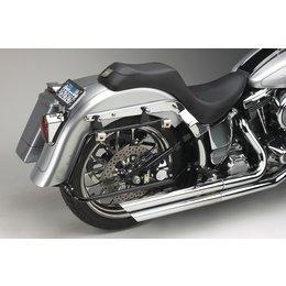 Cycle Visions Bagger Tail Bag Mounts Black Flst 08-10