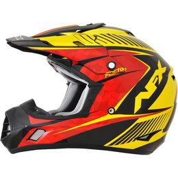 AFX FX17 Complex Motocross Face Helmet Black