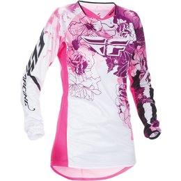 Fly Racing Womens Kinetic Jersey Pink
