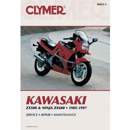 Clymer Repair Manual For Kawasaki ZX500 ZX600 Ninja 85-97