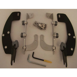 Memphis Shades Batwing Mount Kit Black For Honda VT1300 CR CS