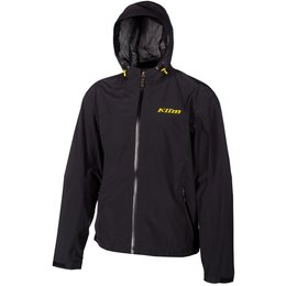 Klim Mens Stow Away Gore-Tex Hooded Textile Snowmobile Jacket Black