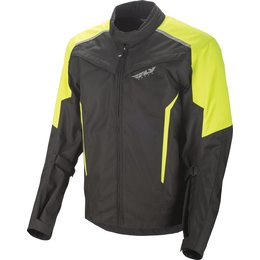 Fly Racing Mens Baseline Armored Textile Jacket Yellow