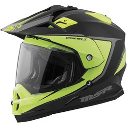 MSR Xpedition LX Dual Sport Helmet Yellow