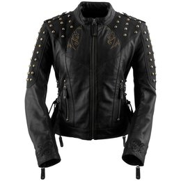 Black Brand Womens Mantra Leather Jacket