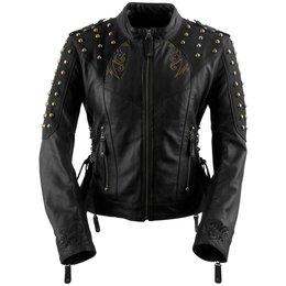 Black Brand Womens Mantra Leather Jacket