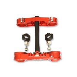 Neken Standard Triple Clamps 20mm Offset Red For Honda CRF250R/450R 13-14