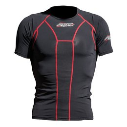 Black Rst Mens Tech X Short Slv Base Technical Wear Undergarment Shirt 2014