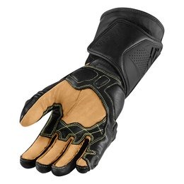 Stealth Icon Mens Hypersport Pro Long Leather Gloves 2014