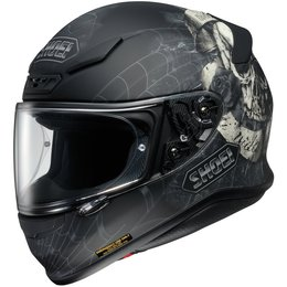 Black Shoei Rf-1200 Rf1200 Brigand Full Face Helmet