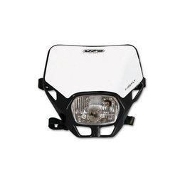 UFO Plastic Firefly Headlight Assembly Black Universal