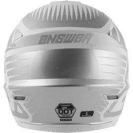Answer Racing AR-1 AR1 Edge Helmet Silver