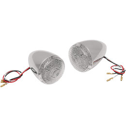 Drag Specialties Deuce-Style LED Rear Turn Signals Pair For Harley 2020-0278