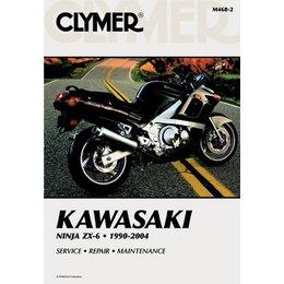 Clymer Repair Manual For Kawasaki ZX6 ZX-6 Ninja 90-04