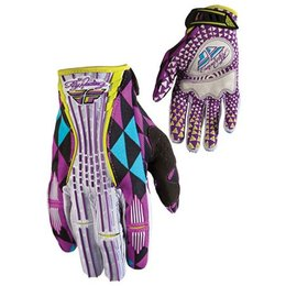 Purple Fly Racing Womens Kinetic Gloves