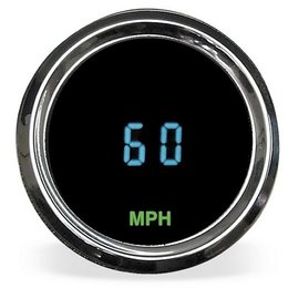 N/a Dakota Digital Mini Speedometer 2-1 16 Round For Harley