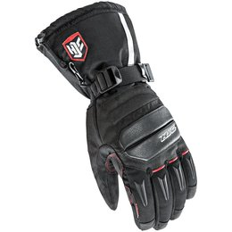 HJC Mens Extreme Cold Weather Motorcycle Riding Gloves Black