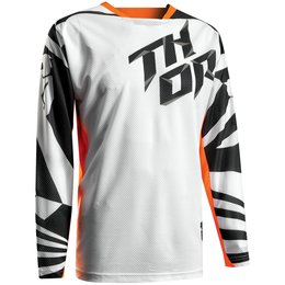 Thor Mens Fuse Air Dazz Mesh Jersey White