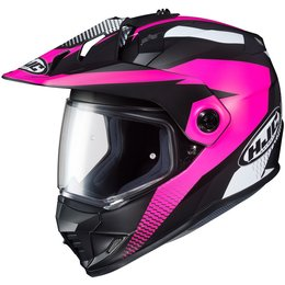 HJC Womens DS-X1 DSX1 Awing Dual Sport Helmet Pink