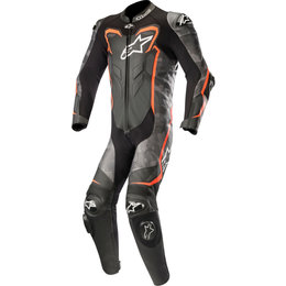 Alpinestars Mens GP Plus Camo 1PC Armored Leather Suit Black