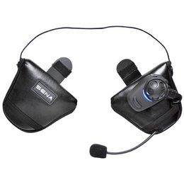 Sena Technologies SPH10H-FM-01 Single Bluetooth FM Headset For Half Helmet Black
