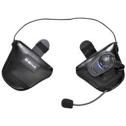 Sena Technologies SPH10H-FM-01 Single Bluetooth FM Headset For Half Helmet Black