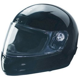 Black Z1r Youth Strike Helmet Solid