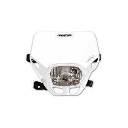 UFO Plastic Firefly Headlight Assembly White Universal