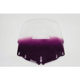 Memphis Shades Windshield Standard W/Hole Purple For Honda GL1800