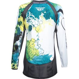Fly Racing Womens MX Offroad Kinetic Jersey Blue