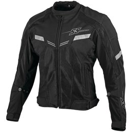 Speed & Strength Mens Power And The Glory Armored Mesh Jacket Black