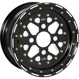 Douglas Wheel UTV Sector 14X7 5B+2N Offset 4/136 BP 14MM Bolt Hole Black S019-12 Black
