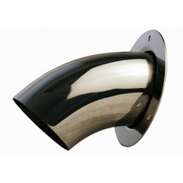 Stainless Steel Gibson Exhaust Turn Down Tip For Kawasaki Teryx Yamaha Rhino