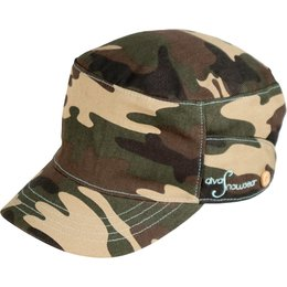 Divas Womens Cadet Hat Green