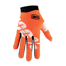 100% Youth Boys I-Track Cal-Trans MX Motocross Riding Gloves Orange