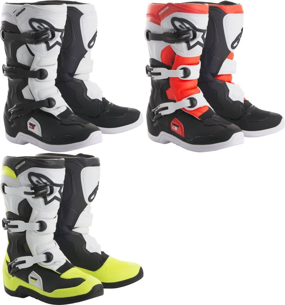 Alpinestars Youth Tech 3S MX Motocross Off-Road CE Certified Boots