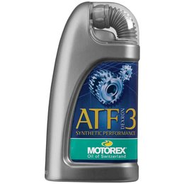 Motorex Synthetic ATF3 Dexron III Transmission Fluid For Auto Engines 1 Liter