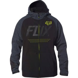 Fox Racing Mens Bionic Brawled Water-Resistant DWR Coated Cold Weather Jacket Black