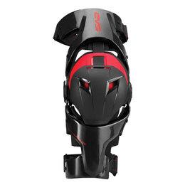Black, Red Evs Web Pro Right Knee Brace 2014 Black Red