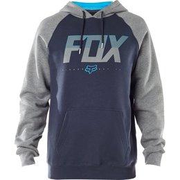 Fox Racing Mens Katch Pullover Hoody Blue