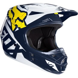 Fox Racing Mens V1 Race Special Edition Helmet White