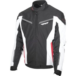 Fly Racing Mens Strata Armored Textile Jacket Black