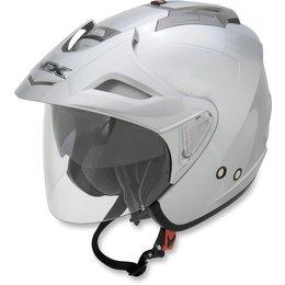 Silver Afx Mens Fx-50 Fx50 Open Face Helmet