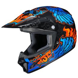 HJC Youth CL-XY 2 CLXY II Eye Fly Motocross MX Off-Road Helmet Blue