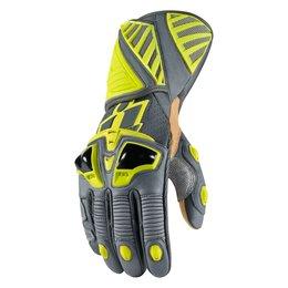 Hi-viz Icon Mens Hypersport Pro Long Leather Gloves 2014