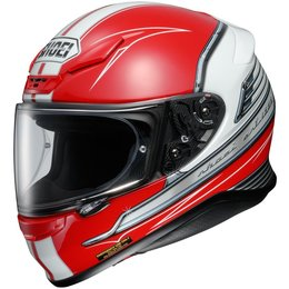 Red Shoei Rf-1200 Rf1200 Cruise Full Face Helmet