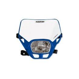 UFO Plastic Firefly Headlight Assembly Blue Universal