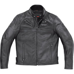 Black Spidi Sport Jk Leather Jacket